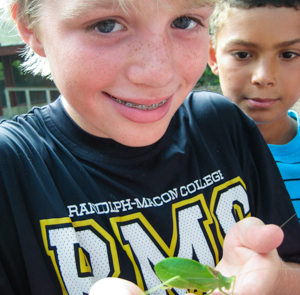Camp-Hanover-virginia-christian-summer-camp-boy-green-bug-300